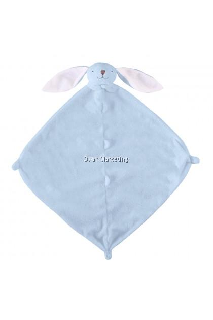 ANGEL DEAR BLUE BUNNY BLANKIE 藍色小兔
