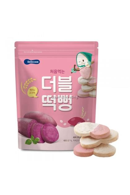 BeBecook - Duo-Flavor Rice Snack (Sweet Potato) 5mth+